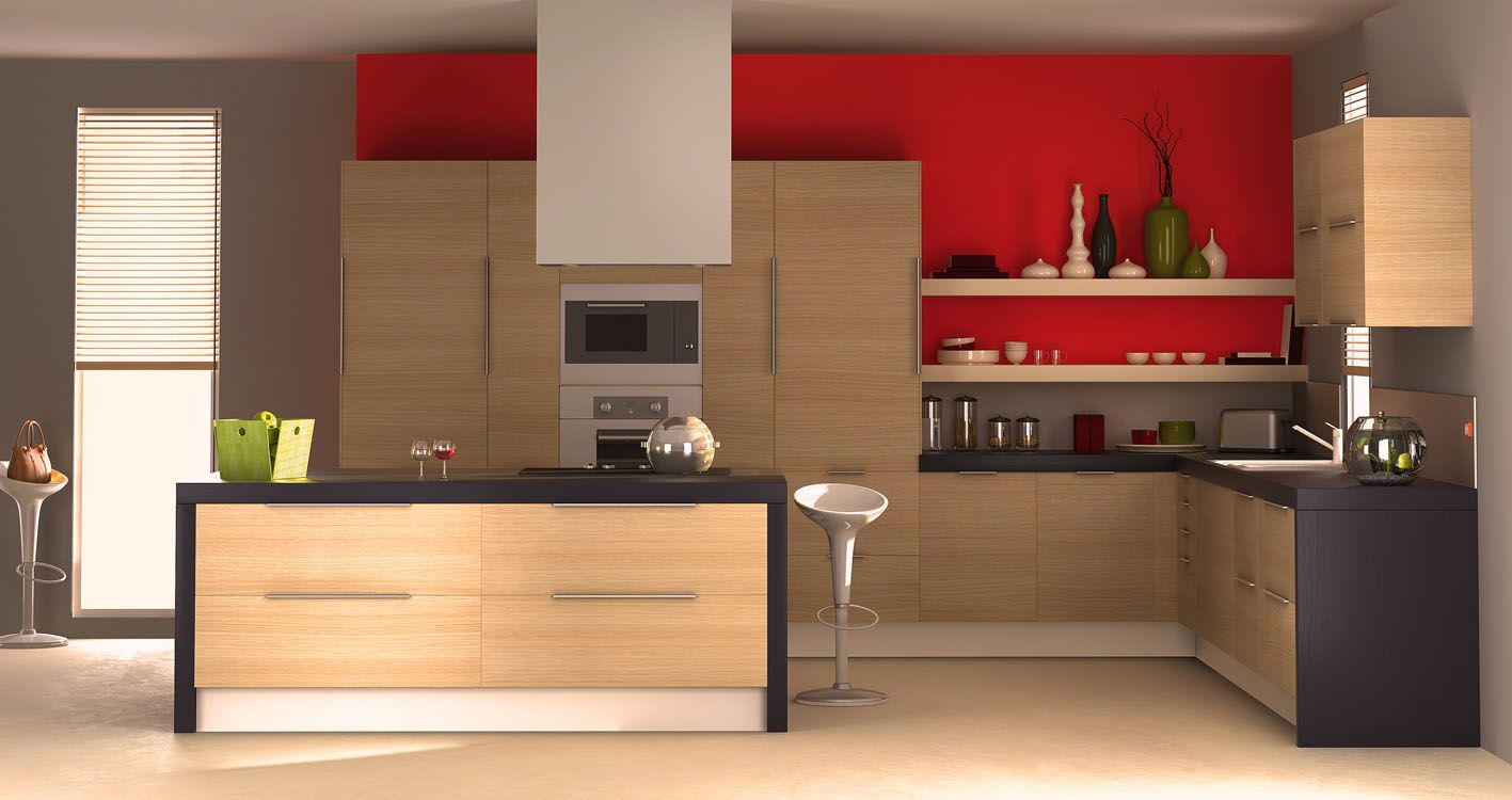 mod lisation d 39 une cuisine en 3d 3d cuisine. Black Bedroom Furniture Sets. Home Design Ideas